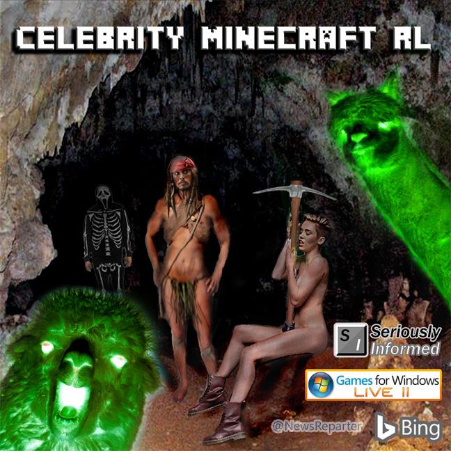 Celebrity minecraft